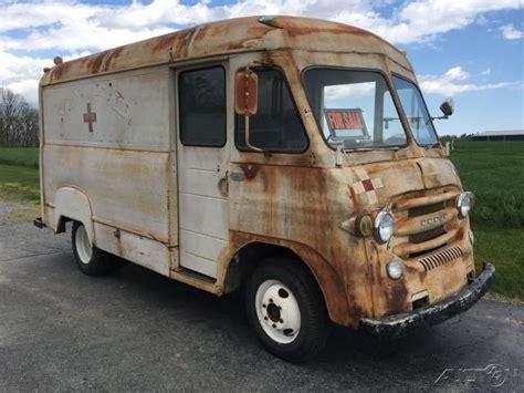 vintage dodge vans for sale dodge route international metro vintage step food