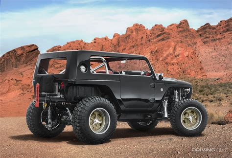Unveiled 2017 Jeep Concept Vehicles Drivingline