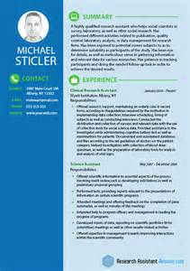 Social Science Researcher Sle Resume by Social Science Research Assistants Resume Resume Writing Service