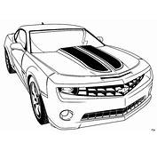 Camero  Free Coloring Pages