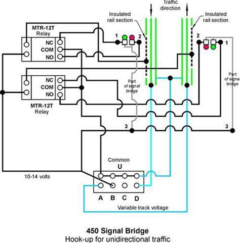 lionel 450 signal bridge wiring for 2 trains o