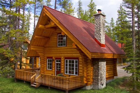 log cabin cottages luxury log cabin resort alpine jasper alberta