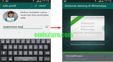 cara membuat virus whatsapp cara membuat whatsapp di hp samsung emiscara com