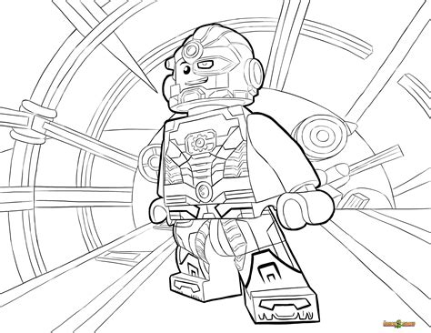 lego dc universe super heroes coloring pages free