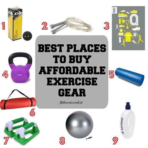 best place to buy exercise equipment the best places to buy affordable workout equipment move