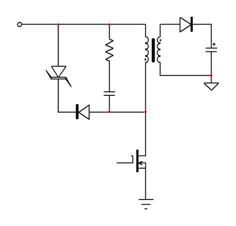 tvs diodes parallel pcb design flyback transformer rc snubber vs tvs diode electrical engineering stack