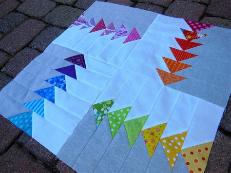 Modern Flying Geese Quilt Pattern by How To Make A Modern Quilt Free Tutorial Series Free