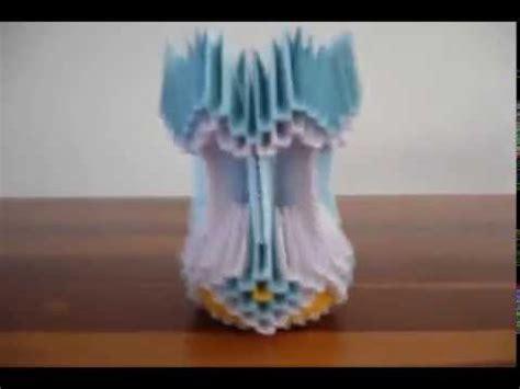 tutorial origami 3d jarron origami 3d jarron tutorial imagui