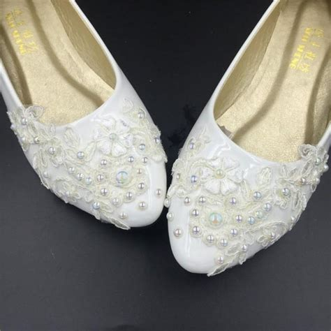 flat ivory lace wedding shoes flat wedding shoes lace bridal flat shoes ivory bridal
