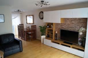 Oak Wall Units Living Room Ikea Besta White Gloss Oak Combination Wall Units Living