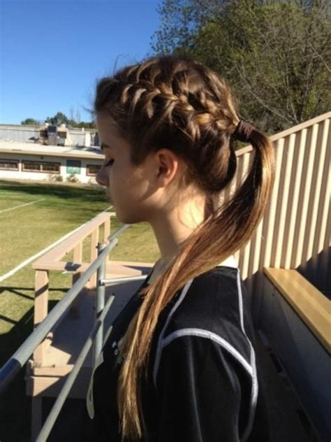 braid lol it s a simple way to do 2 french braids on thick medium 82 of the most romantic and inspiring side ponytails