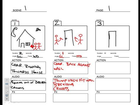 Presentation Storyboard Template Brettfranklin Co Presentation Storyboard Template