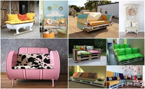 recycle home decor ideas 10 cool diy couch ideas from recycled materials