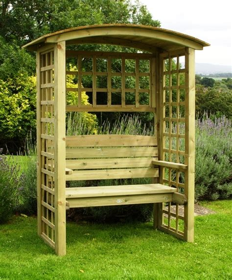 7ft Trellis Northwood 2 25m 7ft 4 189 In Timber Arbour With Trellis