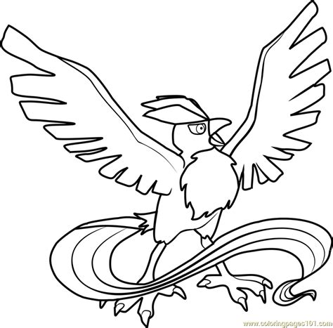pokemon coloring pages articuno articuno pokemon coloring page free pok 233 mon coloring