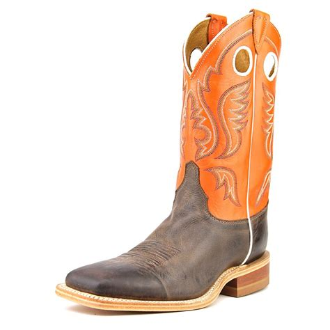 justin square toe boots justin boots br314 2e square toe leather western boot