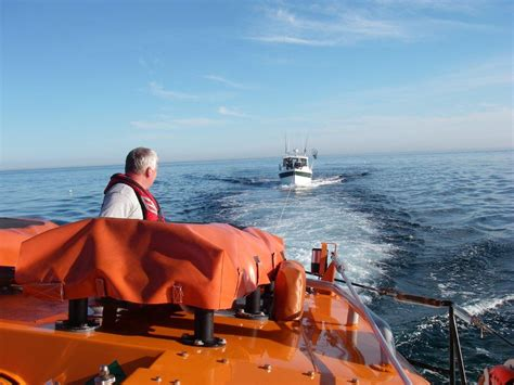 failure to launch boat scene selsey lifeboat station launches