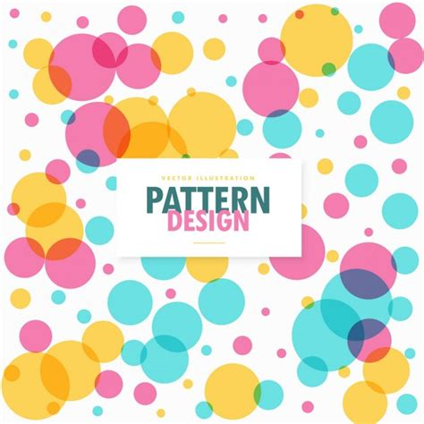 ai pattern color full color pattern with dots vector free download