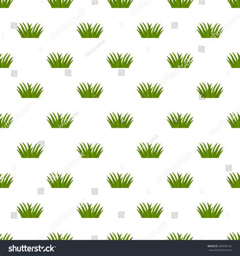 seamless nature pattern vector spring seamless pattern green nature flat stock vector