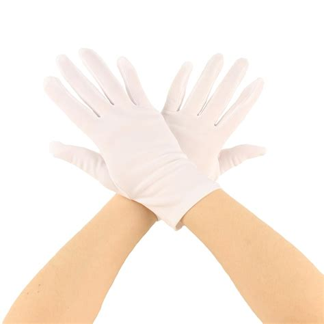 100 82 wrist for the matte stretchy wrist length plain blank thin gloves