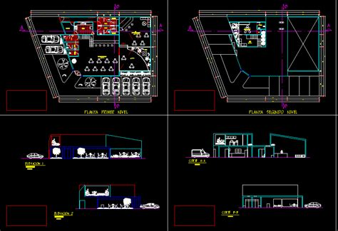 coffee shop design dwg planos de casas planos de construccion