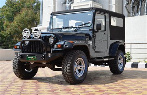 jeep modified black best modified mahindra thars in india features