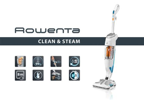 test de produit sleo aspirateurs clean steam de rowenta catalogues promos bons plans