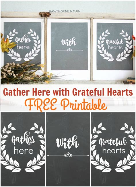 gather here with grateful hearts free printable