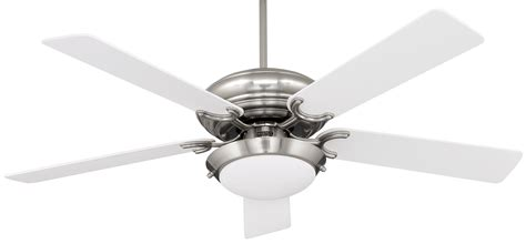 nickel ceiling fan with white blades ceiling lighting polished brushed nickel ceiling fan with