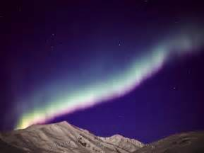 northern lights brooks range mountains alaska photo