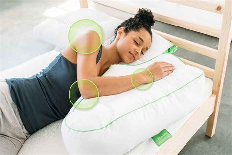 best side for sleeping sleep better posture better sleep pillow
