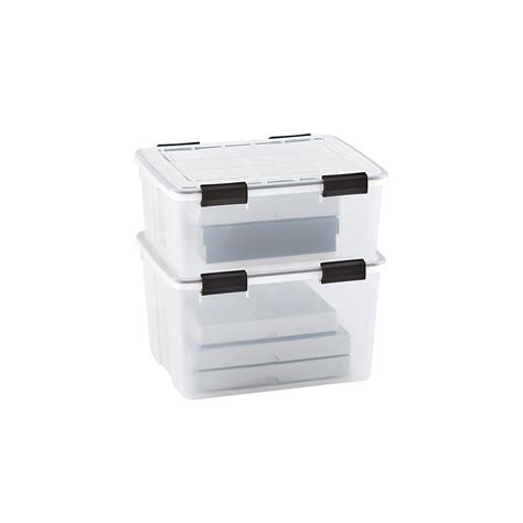 weather tight storage containers clear weathertight totes the container store
