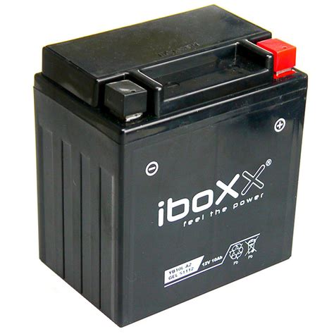 Motorrad Batterie Yb10l A2 by Iboxx Motorrad Gel Batterie Yb10l A2 12 Volt 10 Ah