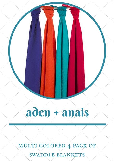 Aden And Anais Giveaway - fourth day of christmas giveaway aden anais muslin swaddle blankets