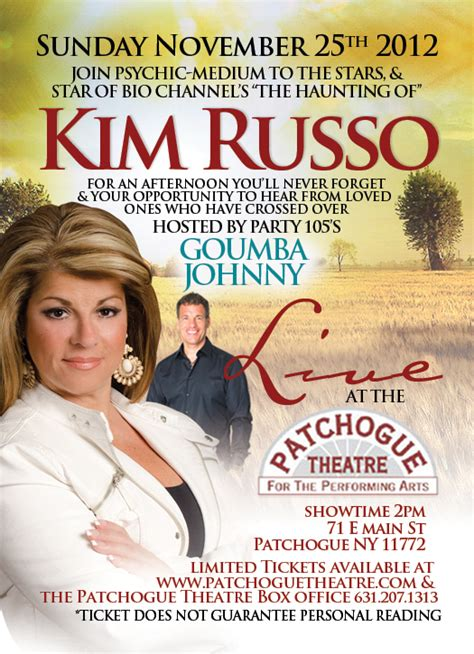 is kim russo a fraud kim russo fraud psychic medium renee richards featured