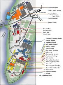 canada college map rmc map addresses