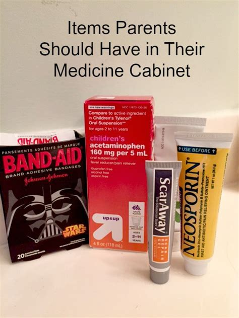 7 Things To Keep In Your Medicine Cabinet by 5 Things Parents Should Keep In Their Medicine Cabinet
