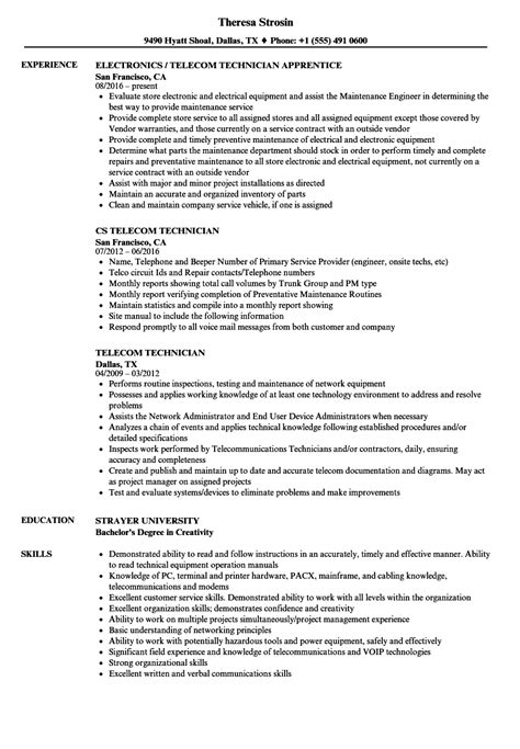 telecom engineer resume foodcity me