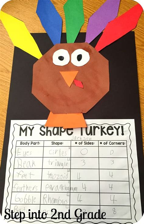2nd grade crafts thanksgiving activities for 2nd graders 20 easy