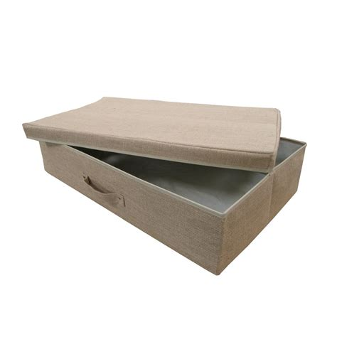 bed box hessian bed storage box