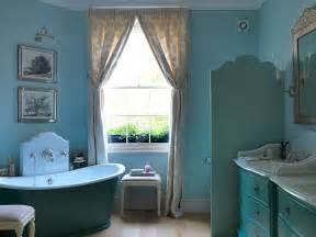 eclectic bathrooms   splash  delightful blue