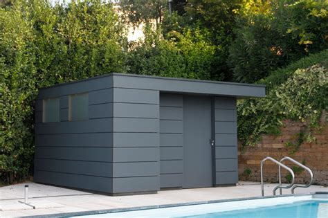 Gartenhaus Metall Modern by Design Gartenhaus Box