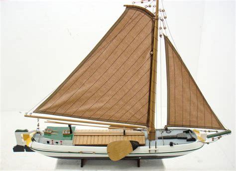 platbodem modelbouw modelbouw zeilschip en platbodem hout katoen kunststof