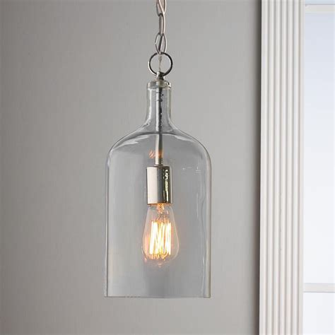 Glass Lantern Pendant Light Glass Jug Pendant Light