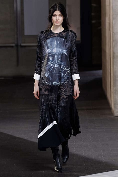 Fashion Week Is Here by Darth Vader Appears At Fashion Week On Dresses