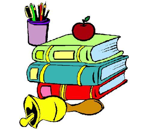 imagenes de utiles escolares coloreados dibujo de material escolar pintado por ateliercolor en