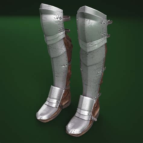 armor slippers 3d model of armour boots v3 how to tunic