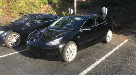 Tesla Ivender Iii Authentic 1 is this elon musk s personal tesla model 3 we just spotted at hq