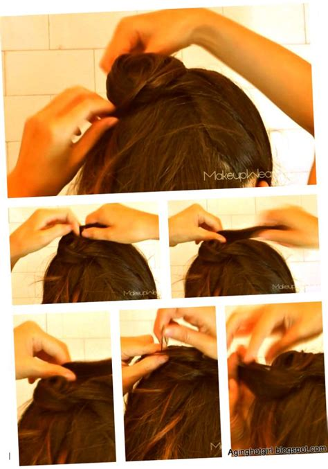 high ponytail with poof hairstyle 7 simple steps 2 different puff hairstyle at home youtube para kazanma ve