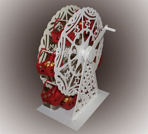 3d svg 3d svg turning ferris wheel with treat baskets